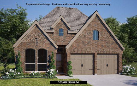 Perry Homes Prairie Oaks 50' subdivision  Little Elm TX 75068