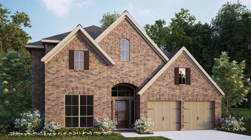 Perry Homes Prairie Oaks 60' subdivision  Little Elm TX 75068