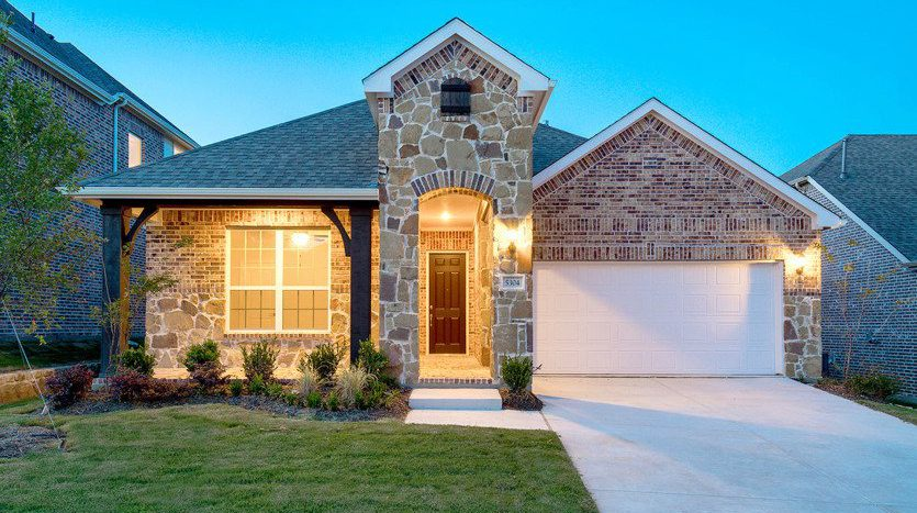 Pulte Homes Inspiration subdivision  Wylie TX 75098