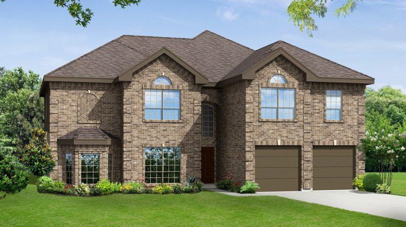 Gallery Custom Homes Heron's Bay Estates subdivision  Garland TX 75043