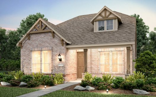 Pulte Homes Gramercy Park subdivision  Garland TX 75044