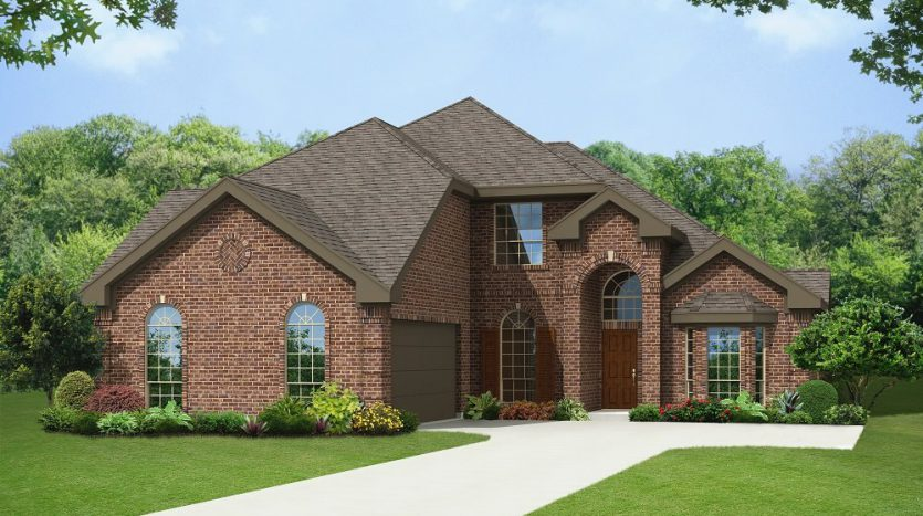 First Texas Homes The Preserve at Pecan Creek subdivision  Denton TX 76208
