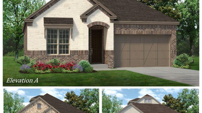Sandlin Homes Cambridge Estates subdivision  North Richland Hills TX 76180
