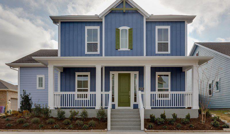 David Weekley Homes The Homestead at Liberty Grove Village subdivision  Rowlett TX 75089