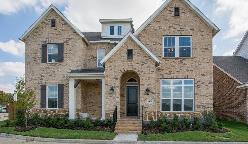 David Weekley Homes The Homestead at Liberty Grove Village subdivision  Rowlett TX 75089