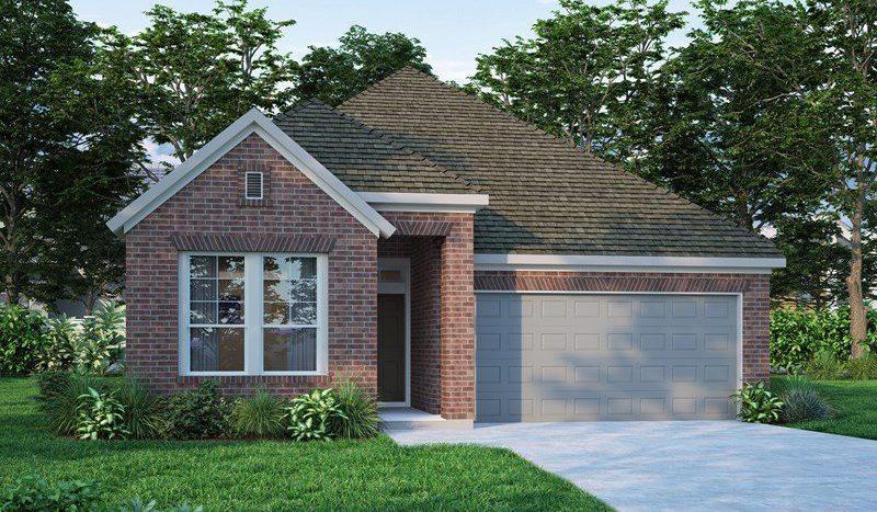 David Weekley Homes Ingram Terrace subdivision  Richardson TX 75082