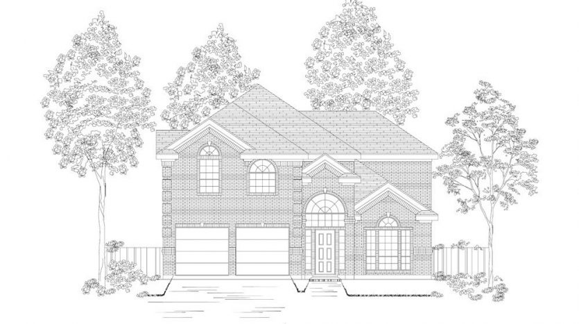 First Texas Homes Willow Wood subdivision  McKinney TX 75071