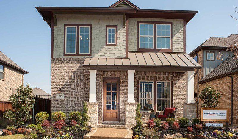 David Weekley Homes Viridian:Viridian Cottage subdivision  Arlington TX 76005