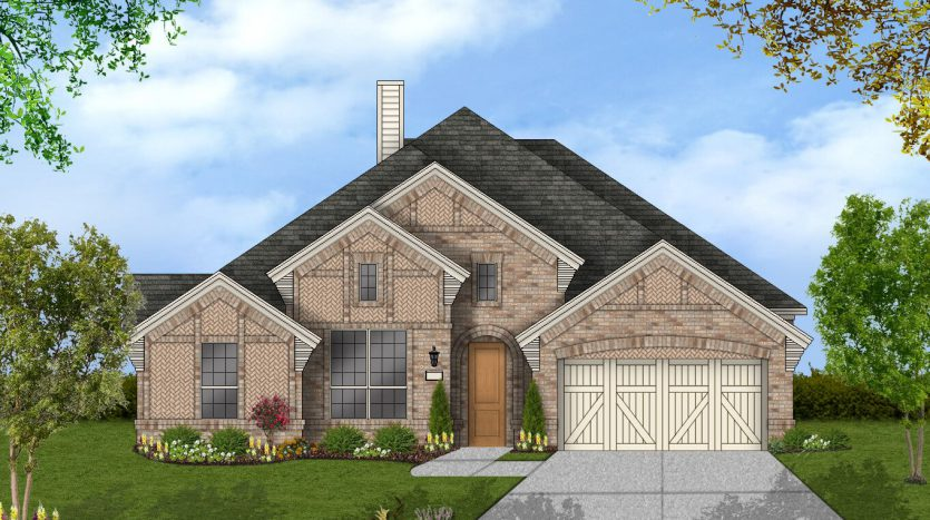 Coventry Homes Hollyhock subdivision  Frisco TX 75033