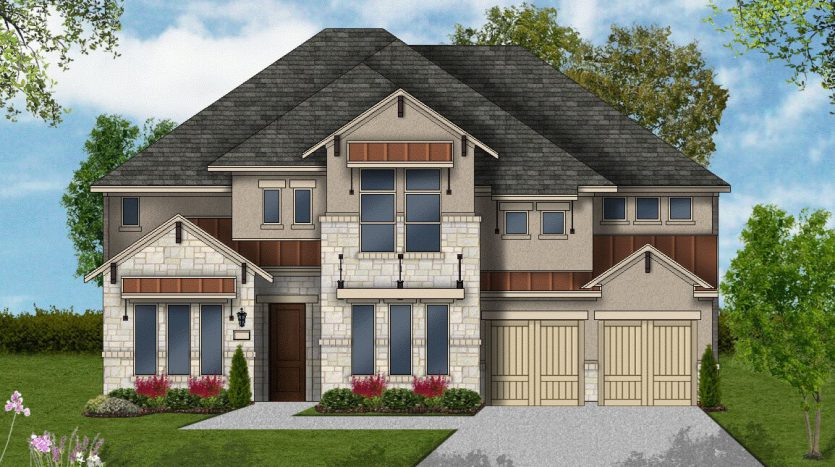 Coventry Homes Canyon Falls subdivision  Argyle TX 76226
