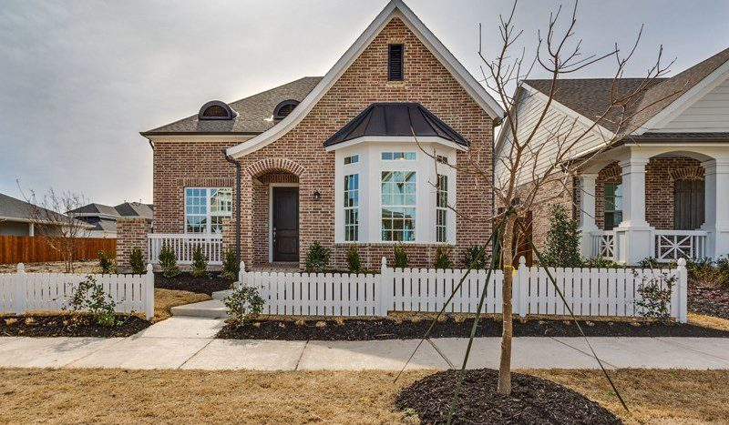 David Weekley Homes Tucker Hill subdivision  McKinney TX 75071
