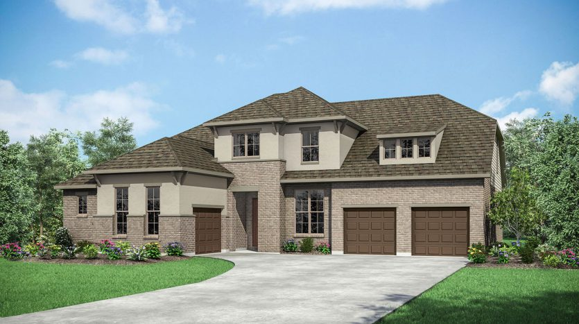 Drees Custom Homes Canyon Falls subdivision  Argyle TX 76226