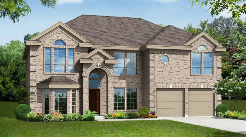 Gallery Custom Homes Heron's Bay Estates subdivision  Garland TX 75043