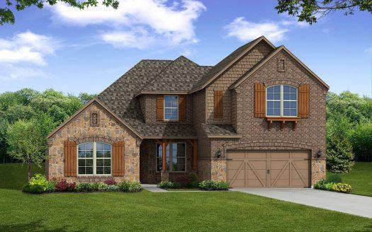 Beazer Homes Miramonte subdivision  Frisco TX 75035