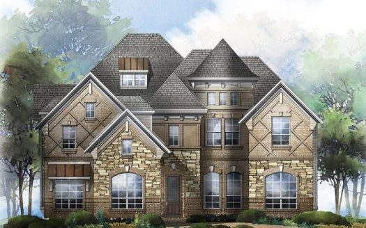 Grand Homes Trails of Glenwood subdivision  Plano TX 75074