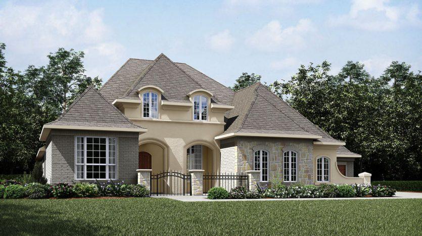 Drees Custom Homes Canyon Falls 100's subdivision  Argyle TX 76226