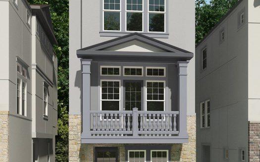 David Weekley Homes Oak Park Villas subdivision  Dallas TX 75209