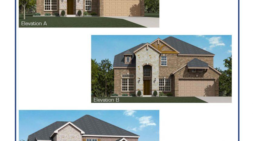 Altura Homes Eagle Ridge subdivision  Forney TX 75126