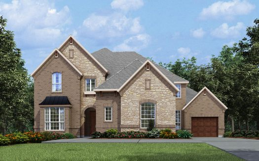 Drees Custom Homes Canyon Falls subdivision  Argyle TX 76226