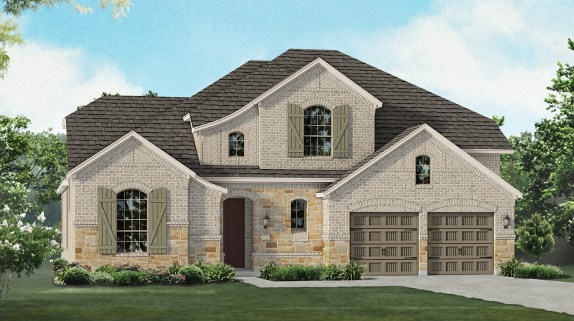Highland Homes Canyon Falls: Dakota / Juniper subdivision  Argyle TX 76226