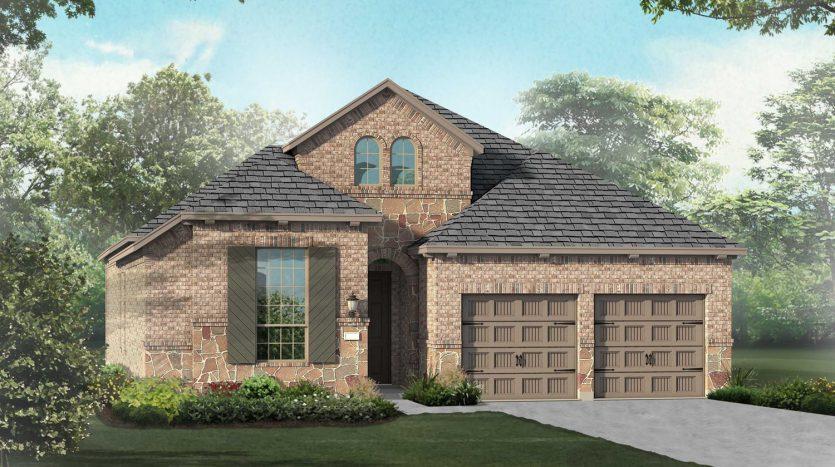 Highland Homes Wildridge:Wildridge: 50ft. lots subdivision  Oak Point TX 75068