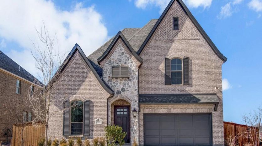 Saxony by Shaddock Homes Estates at Rockhill subdivision 16175 Barton Creek Lane Little Elm TX 75068