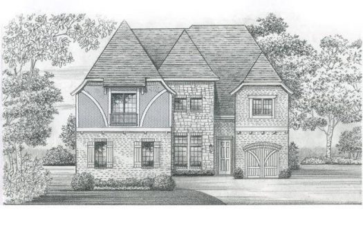 Shaddock Homes Villages of Stonelake Estates subdivision  Frisco TX 75035