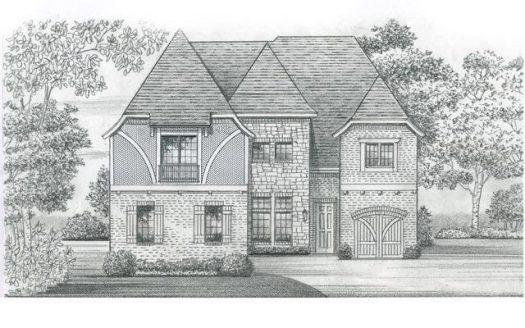 Shaddock Homes Villages of Stonelake Estates subdivision  Frisco TX 75035