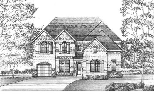 Saxony by Shaddock Homes Estates at Rockhill subdivision  Little Elm TX 75068
