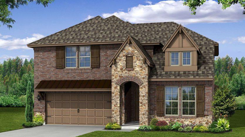 Beazer Homes Erwin Farms subdivision  McKinney TX 75071