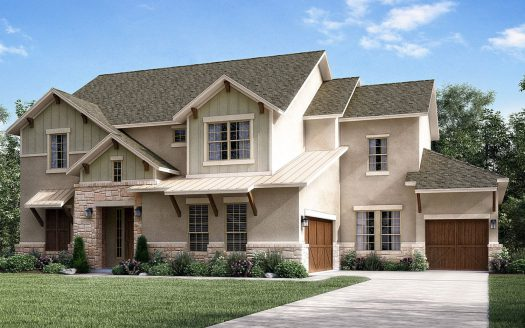 Meritage Homes Marshall Ridge - Reserve Collection subdivision  Keller TX 76248