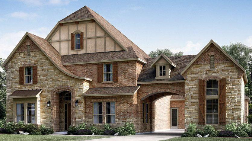 The Ellington Plan - Meritage Homes- 4 bedrooms, 4 5 baths