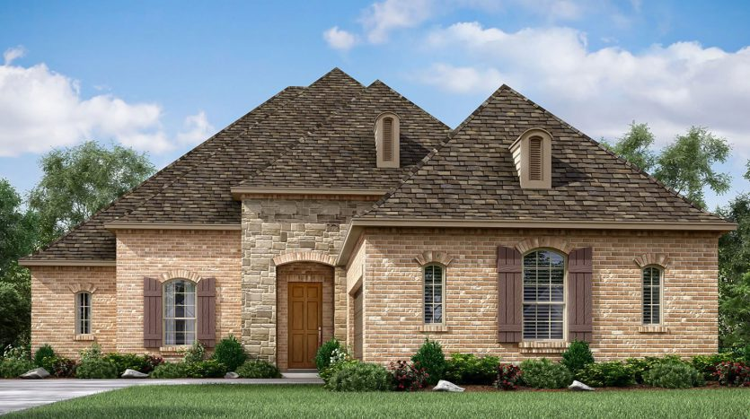 Meritage Homes Trinity Falls:Trinity Falls - Preserve Collection subdivision  McKinney TX 75071