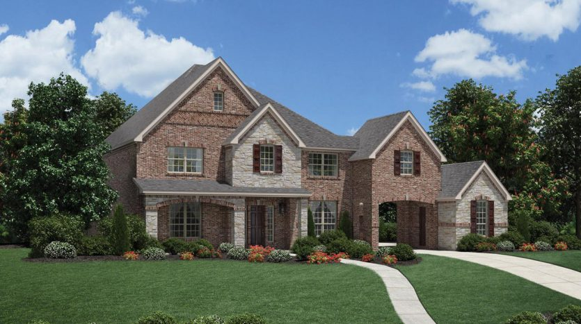Toll Brothers Southlake Meadows subdivision  Southlake TX 76092