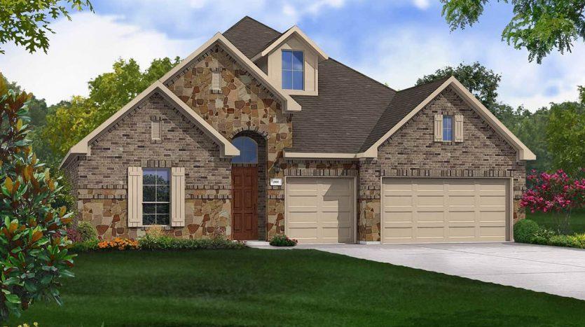 Gehan Homes The Arbors at Willow Bay subdivision  Frisco TX 75035