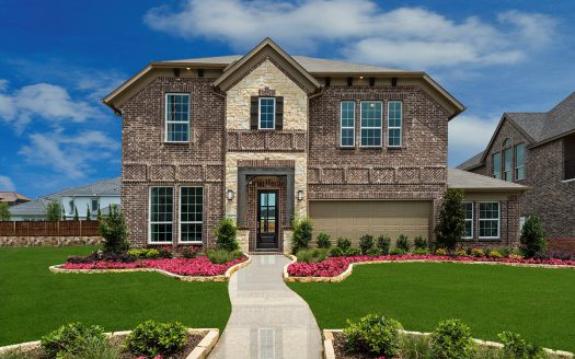 Landon Homes Richwoods Crossing subdivision  Frisco TX 75035