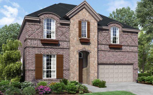 Landon Homes Pecan Meadow subdivision  Allen TX 75013