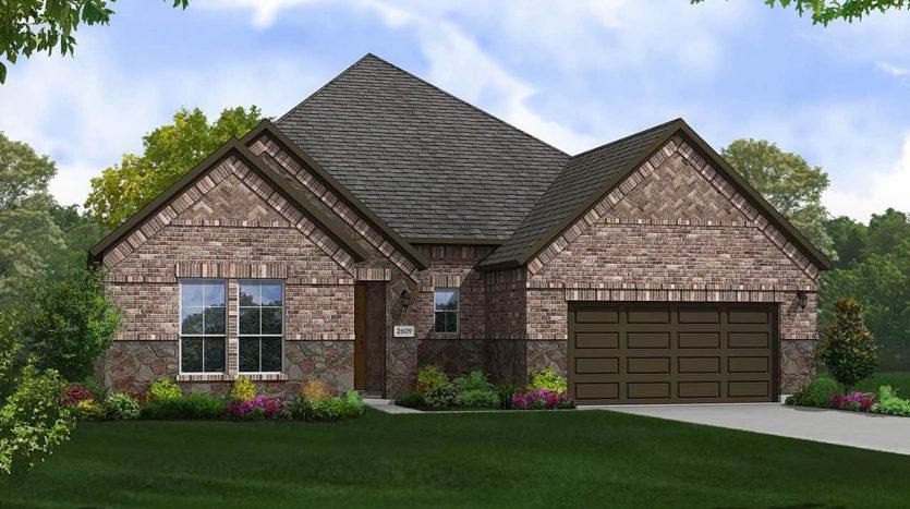 Gehan Homes Trinity Falls:Trinity Falls-River Park-Classic 60' subdivision  McKinney TX 75071