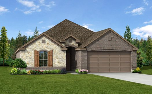 Trendmaker Homes Paloma Creek subdivision 1009 Lake Cypress Lane Little Elm TX 75068