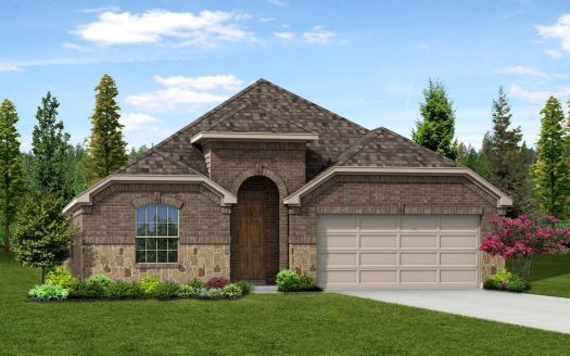 Trendmaker Homes Park Trails subdivision 103 Mesa Verde Court Forney TX 75126