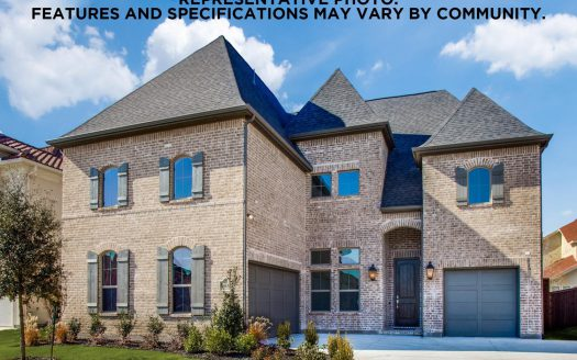 Shaddock Homes Lexington Country subdivision 10639 Wintergreen Drive Frisco TX 75035