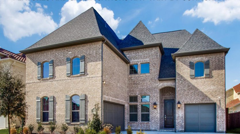 Shaddock Homes Lexington Country subdivision 10639 Wintergreen Drive Frisco TX 75035