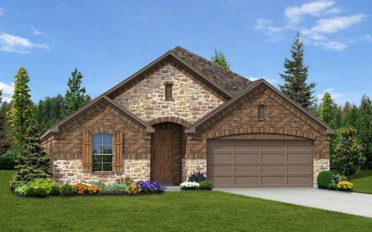 Trendmaker Homes Park Trails subdivision 165 Joshua Tree Court Forney TX 75126