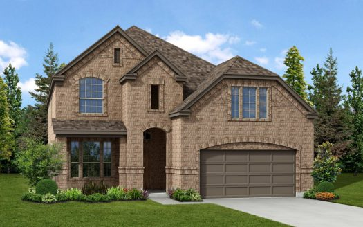 Trendmaker Homes Paloma Creek subdivision 2100 Lake Hawthorne Trail Little Elm TX 75068
