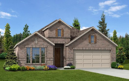 Trendmaker Homes Paloma Creek subdivision 2113 Lake Moss Lane Little Elm TX 75068
