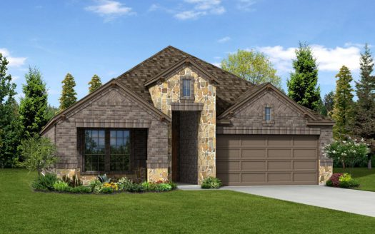 Trendmaker Homes Paloma Creek subdivision 2117 Lake Moss Lane Little Elm TX 75068