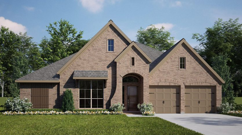 Perry Homes Lilyana 60' subdivision  Prosper TX 75078