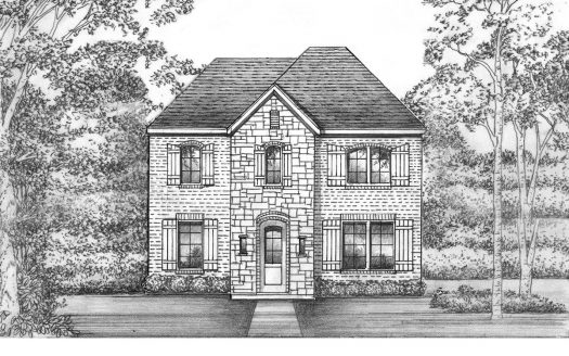Saxony by Shaddock Homes Light Farms Brenham - 40' Lots subdivision 3536 Pritchard Road Celina TX 75009