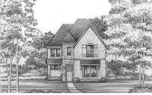 Saxony by Shaddock Homes Light Farms Brenham - 40' Lots subdivision 3537 West Cheney Avenue Celina TX 75009