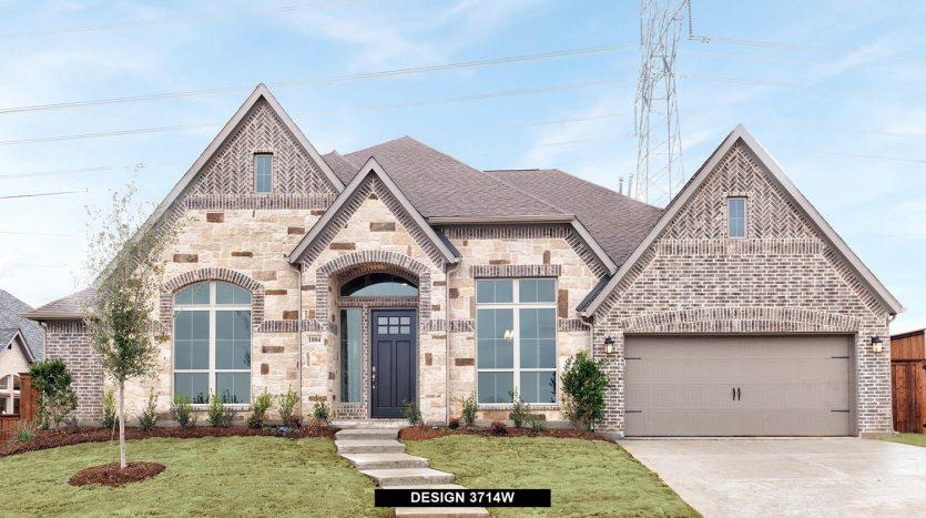 Perry Homes Fairway Ranch 75' subdivision  Roanoke TX 76262